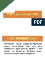 TOPIK 4 Hukum Hess