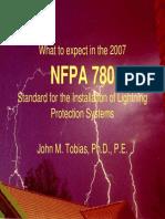 Presentation-NFPA 780 Update-J Tobias