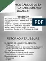 Conceptos Básicos de La Lingüística Saussureana