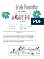 fourth grade newsletter 5-2 1