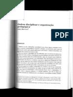 12 - Ordem Disciplinar e Ordem Pedagogica