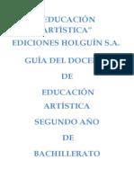 Guia de Segundo de Bachillerato de Educacion Artistica