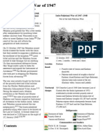 Indo-Pakistani War of 1947 - Wikipedia, The Free Encyclopedia