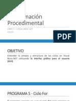 Programación Procedimental Unidad 3