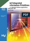 Intel Performance Primitives