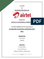 Synopsis of bharti airtel