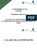 ABC de La Exportacion de Vinos