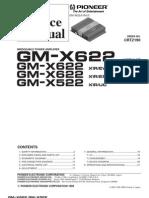 Pioneer Gmx-622 2x50w 150w