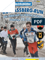 Kolsaßberg Run 2009 - Flyer