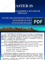 geotehnica_tehnici de Incercari in Situ