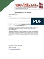 Carta Autorización ( Cci )