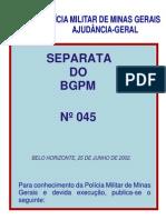 Código de Ética-bgpm 45