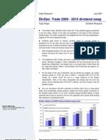 [BNP Paribas] DivDax. Trade 2009-2010 Dividend Swap