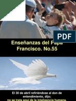 Enseñanzas Del Papa Francisco - Nº 55