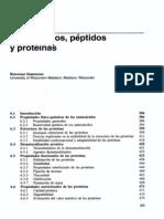 Capitulo 06 Aminoacidos, Proteinas
