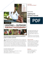 Amherst Media ~ Step-by-Step Lighting for Outdoor Portrait Photography