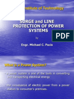 Line Protection of Power Systems