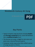 19th Century Art Song