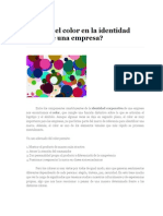 Identidad Visual Color