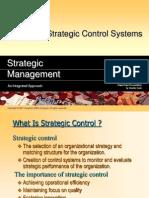 designing strategic control system