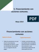 Clase 8_30042014 Unidad 5 Financiamiento Con Acciones Comunes