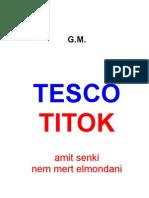 Tesco Titok 1.
