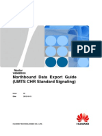 Northbound Data Export Guide (UMTS CHR Standard Signaling)