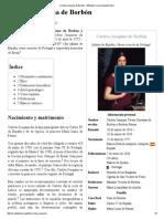 Carlota Joaquina de Borbón - Wikipedia, La Enciclopedia Libre