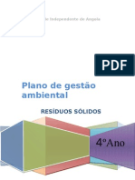 Plano de Gestao Ambiental de Residuos is