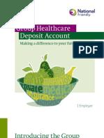Group Healthcare Deposit Account