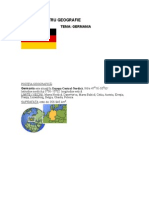 Geografie Referat Germania Actuala