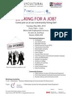 Job Fair May 20th