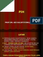 Pengantar Ilmu Hukum (Slide)