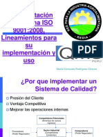 Implementación ISO 9001-2008 Feb2014