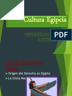 Diapositiva de La Cultura Egipcia Acomodada