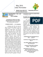 May TC Newsletter 2014