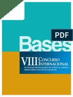 Bases VIII Concurso Internacional