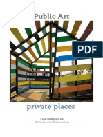 Public art, private places