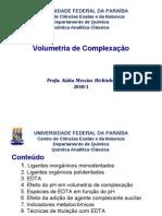 Aula 13 Volumetria de Complexação