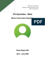 Formal _Phase_ Report Seychelles - Mahe 002- June 2009