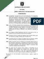 Ley Reformatoria a La Ley de Personal de Las FFAA