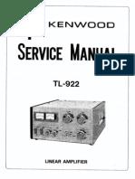 Kenwood TL-922 Service Manual