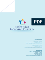 Citizens for Browards Children Information Kit