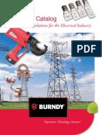 BURNDY - Master Catalog 2010