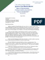 Waxman Letter