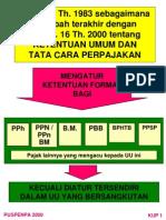 Slide UU Ketentuan Umum Perpajakan