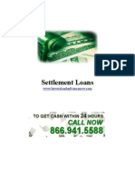 Settlement Loans