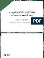 Programación en C Para Microcontroladores