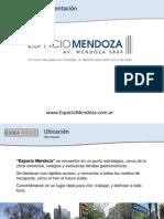 Espacio Mendoza - Brochure Sep13