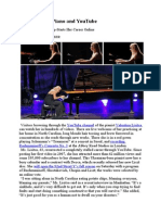 Lisitsa-Artikel NY-Times - Concerto for Piano and YouTube